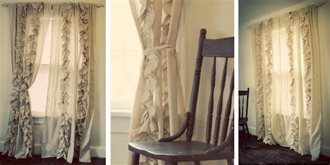 + Ideas About Ruffled Curtains On Pinterest
