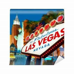 Wel e to Las Vegas neon sign Wall Mural • Pixers • We