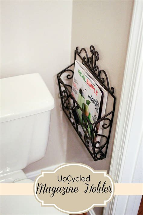 mail carrier turned magazine holder perfect  small