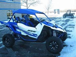 New 2016 Yamaha Yxz1000r Racing Blue  White Atvs For Sale
