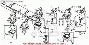 Honda Cb 750 Carburetor Diagram