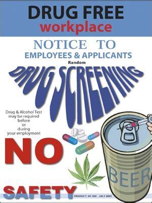 drug  workplace poster