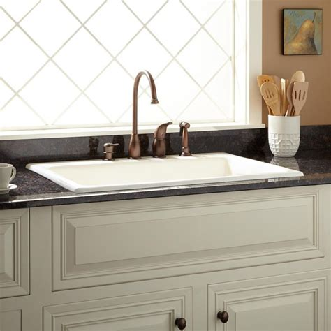 Drop In Farmhouse Sink White 25 best ideas about drop in kitchen sink on
