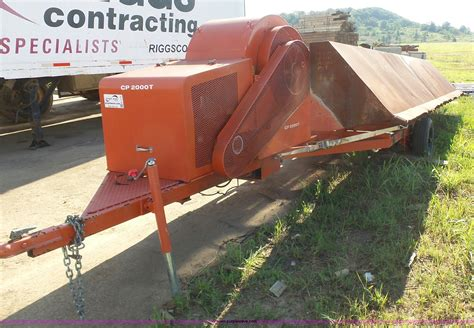 Air Curtain Destructor Cp2000t by Air Curtain Destructor Item K7116 Sold August 11