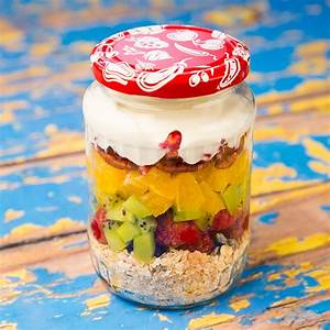 Low Carb Indian Diet Chart For Weight Loss Muesli Fruit And Yogurt Breakfast In A Jar So Delicious