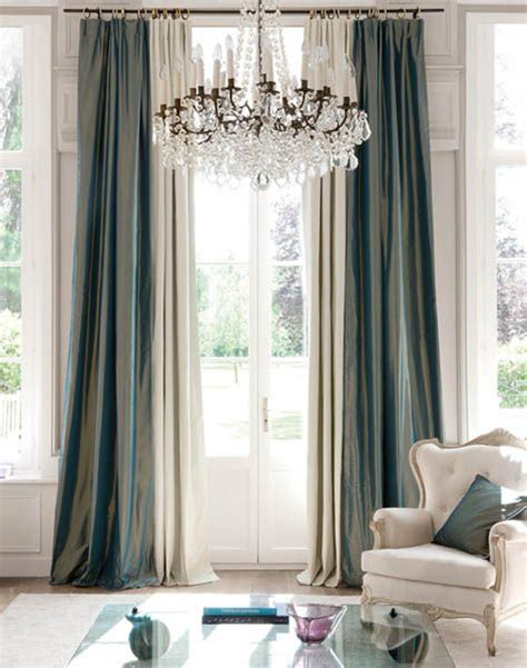 1000 ideas about silk curtains on faux silk