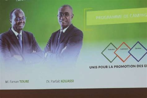 president chambre de commerce côte d ivoire faman touré nouveau président de la