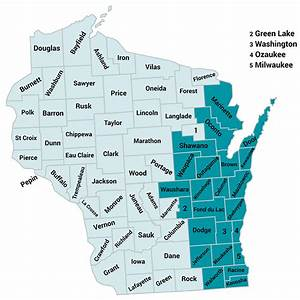 Molina Healthcare My Chart Molina Medicare Service Map In The State Of Wisconsin