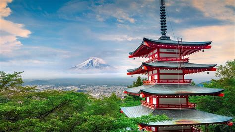 mount fuji view hd wallpaper wallpaper studio  tens