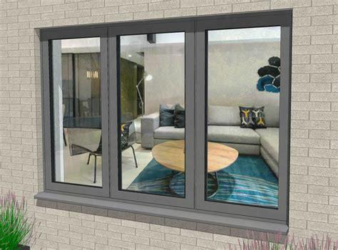 flush casement aluminium windows hardware handles  hinges duration windows