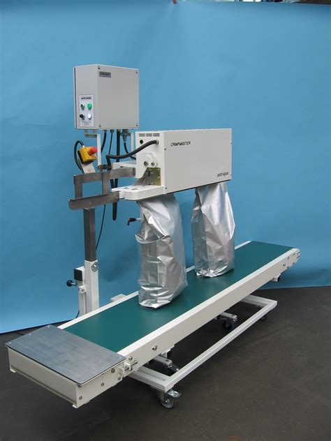 continuous heat sealers sealing machines  laminated film