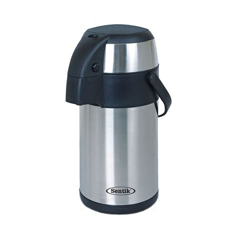 Thermoskanne Mit Pumpe by Stainless Steel Vacuum Thermos Airpot 3 5l