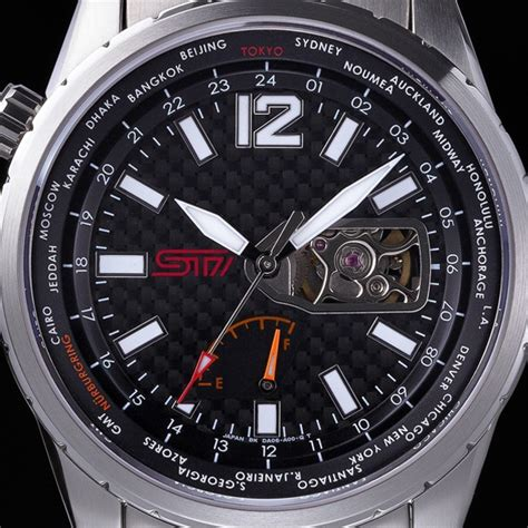 New Sti Mechanical Watch By Subaru Biser3a