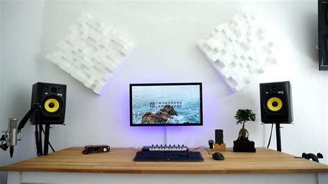 ultimate  producer desk setup  youtube