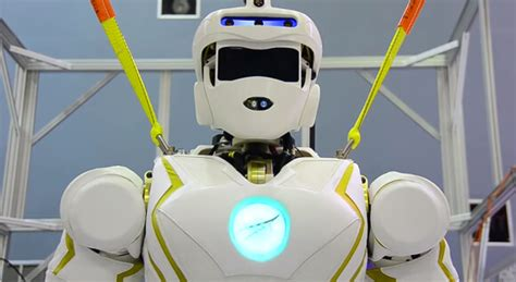 Nasa Unveils Valkyrie, A Humanoid Robot Destined For Space