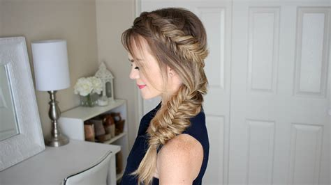 Dutch Fishtail Summer Side Braid 1950s Hair And Makeup Tutorial Half Updo Formal Hairstyles Medium For Long Faces 2016 Oval Thin Straight Cute Youth Group How To Style Wavy Bob Haircut Best Colour Home Uk Short With Bangs Round Face