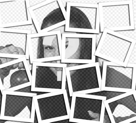 Cornici Collage Aggiungere Leffetto Collage Con Cornici Polaroid Alle