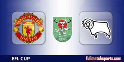 Manchester United vs Derby County Highlights Full Match ...