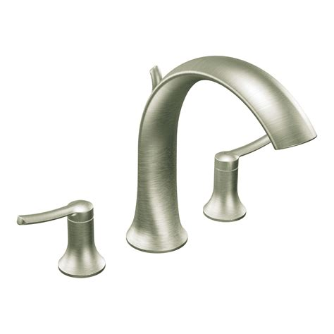 home depot moen faucets moen brushed nickel two handle