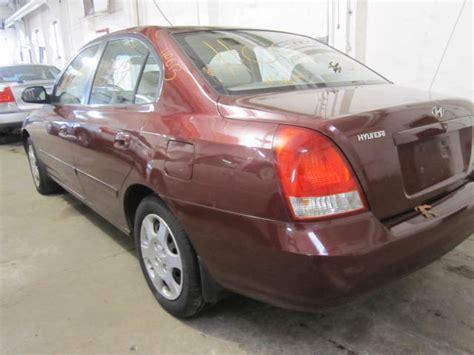 2002 Hyundai Elantra Parts by Parting Out 2002 Hyundai Elantra Stock 110613 Tom S