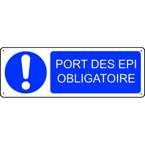panneau port des epi obligatoire stocksignes
