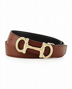 Ferragamo Parigi Reversible Leather Belt in Brown for Men ...