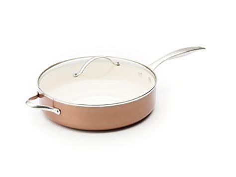 trisha yearwood royal precious metals  quart covered saucepan copper tookcook