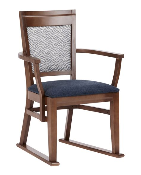 chelford dining chair  arms skids renray healthcare
