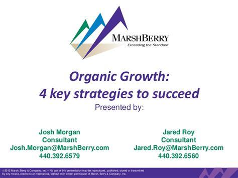Organic Growth 4 Key Strategies To Succeed