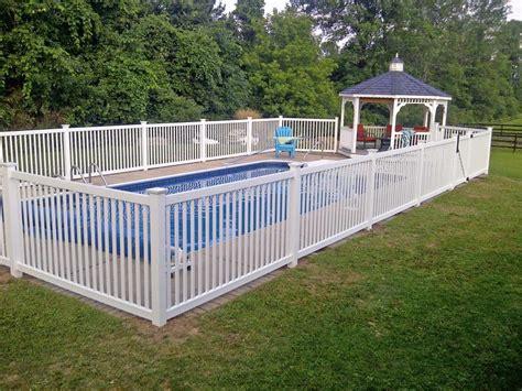 Fences around Inground Pools
