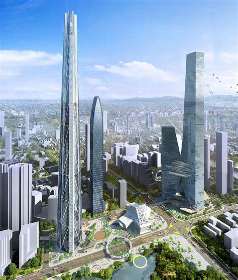 china 39 s tallest skyscraper h700 shenzhen tower