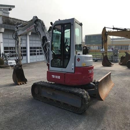 takeuchi tbfr excavator  salesimex baumachinenhandel gmbhsindelfingengermany