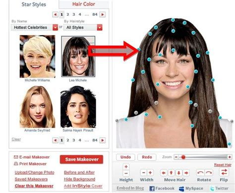 virtual hairstyle makeover hairstyles  unixcode