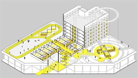 Diagram Of Community Center by Officeproject Built Alternative Community Center On