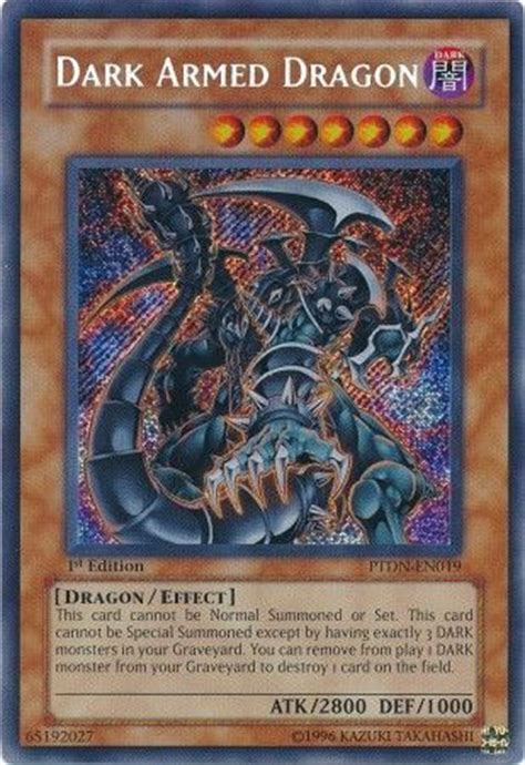 armed deck yugioh armed ptdn en019 secret unl nm