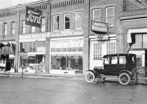 Historic Ford Dealership Photo