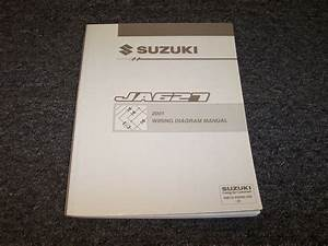 2001 Suzuki Grand Vitara Suv Electrical Wiring Diagram Manual Jx Jls Jlx 2 5l V6