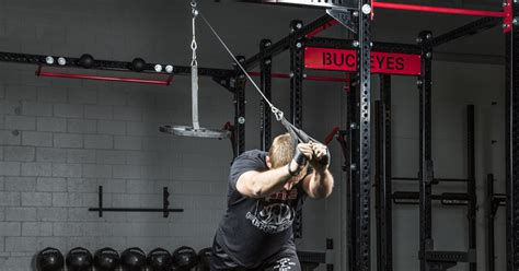 spud  econo tricep  lat pulley rogue fitness