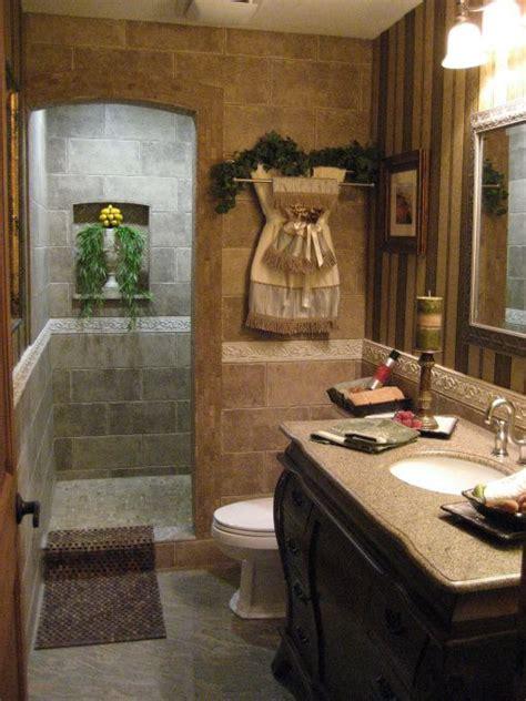 blah to spa bath tuscan makeover bathroom designs