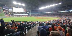 Astros Minute Seating Chart Minute Park Section 106 Houston Astros