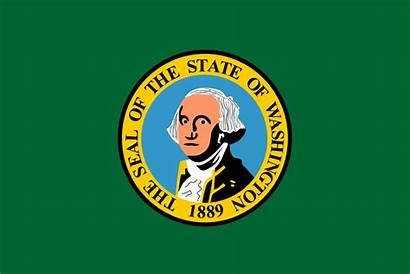 Washington State Flag Clipart Knife Laws Usa