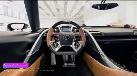 toyota supra ft  interior  exterior design