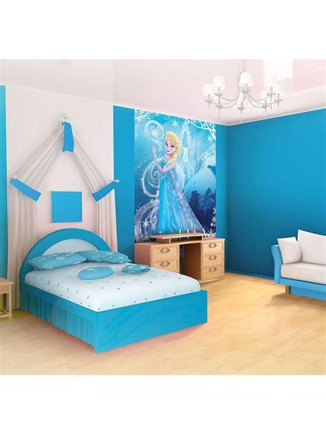 disney frozen elsa light blue wallpaper mural amazon