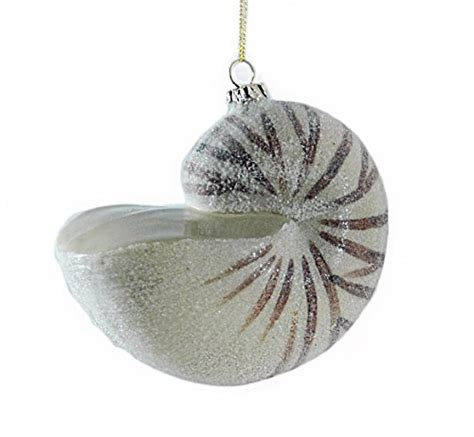 seashell christmas tree ornaments for coastal christmas