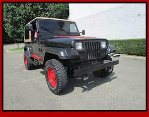 91 Jeep Wrangler Manual Stick Shift Hard Top