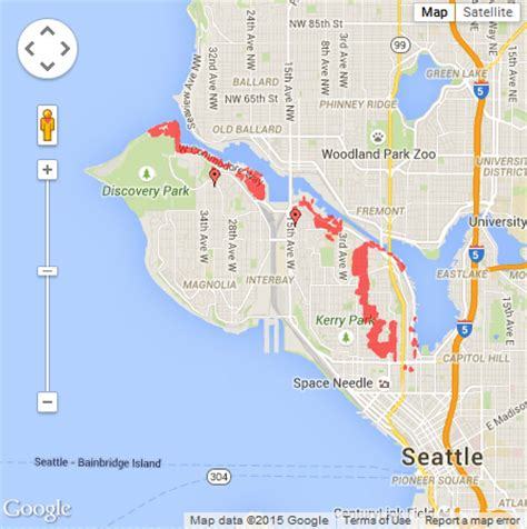 seattle city light power outage map power outage affects magnolia seattle 911