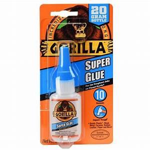 Shop GORILLA 0 71-oz Super Glue Adhesive at Lowes com