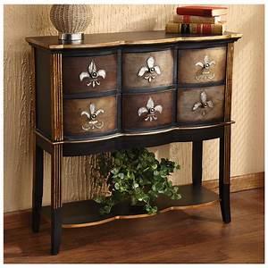 Flur Konsole : fleur de lis console table 282084 living room at ~ Pilothousefishingboats.com Haus und Dekorationen