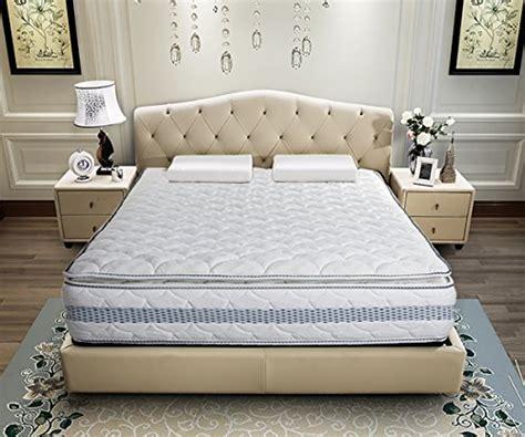 merax   luxury pillow top gel memory foam mattress