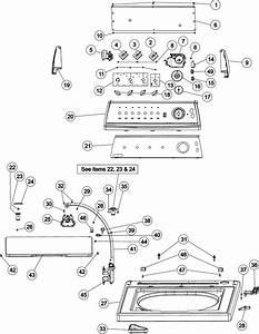 Crosley Cw9505w Washer Parts